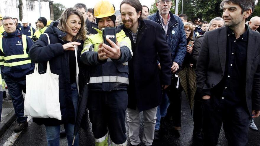 Pablo Iglesias, en A Coruña y Ferrol antes del 28-A