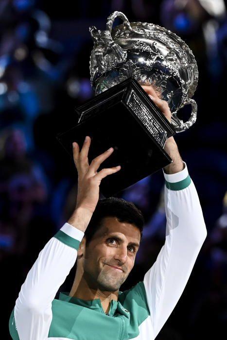 Final del Open de Australia: Djokovic - Medvedev