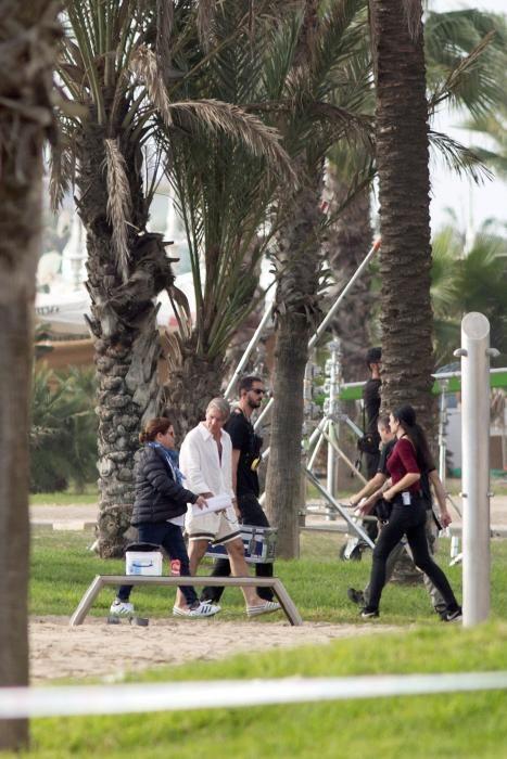 """Rodaje en Málaga de la serie """"Genius: Picasso"""""""