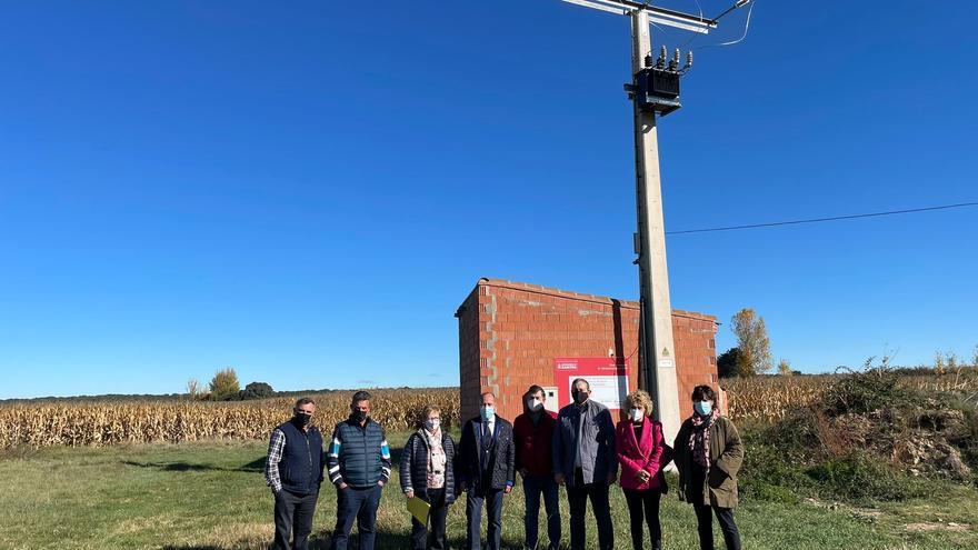 La Diputación financia el nuevo sistema eléctrico de abastecimiento de agua en Maire