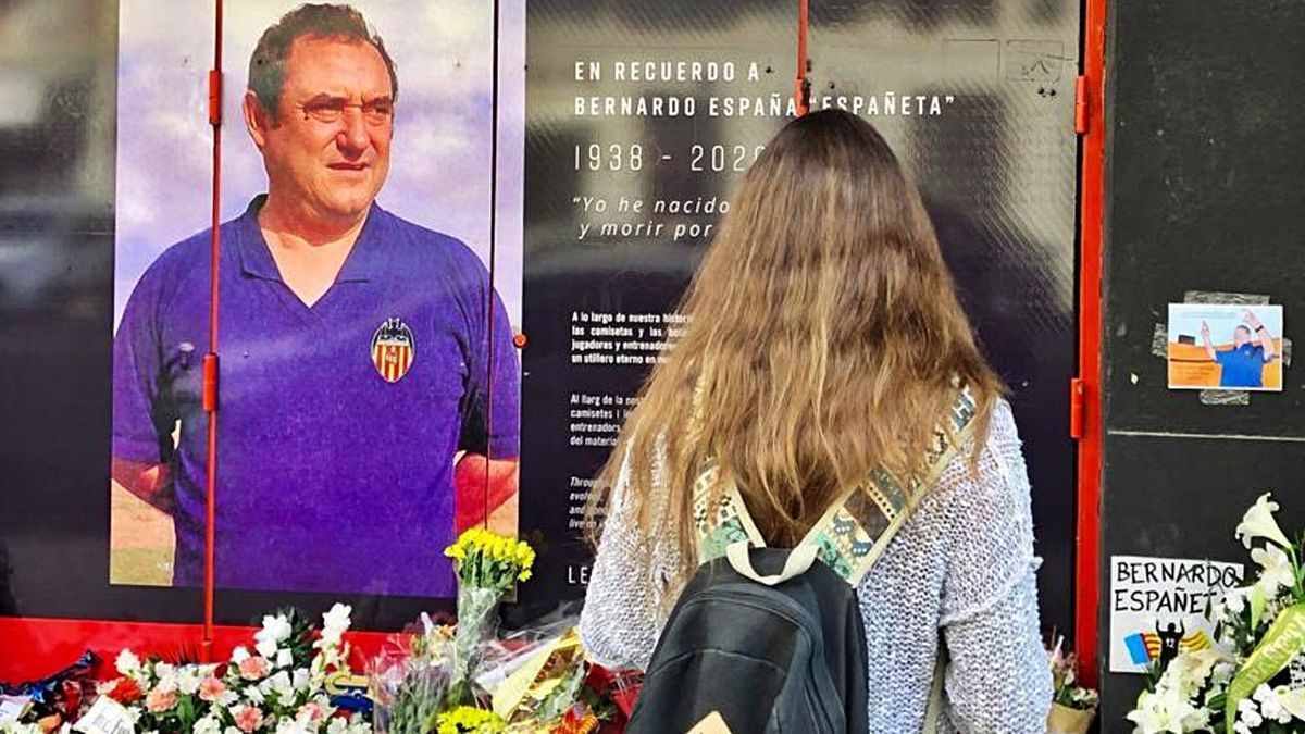 La puerta 12 de Mestalla ya es para Bernardo Españeta