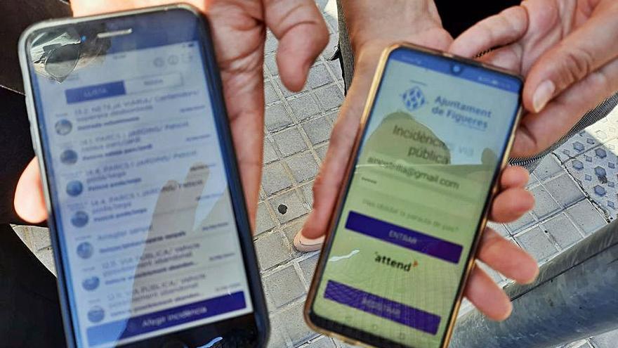 Una aplicació permet  resoldre 2.279 danys a la via a Figueres