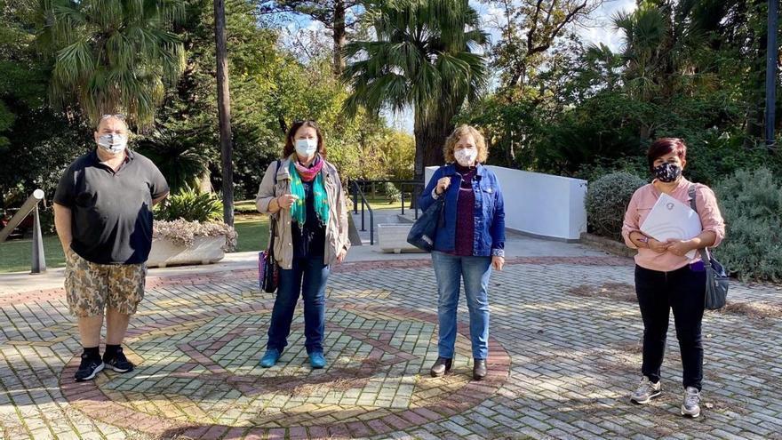 IU y Podemos alertan de la pérdida de especies del Jardín de La Cónsula