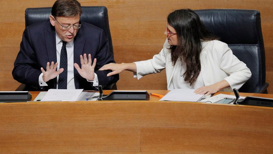 Puig y Oltra sitúan a sus cargos de confianza en la pelea por los presupuestos