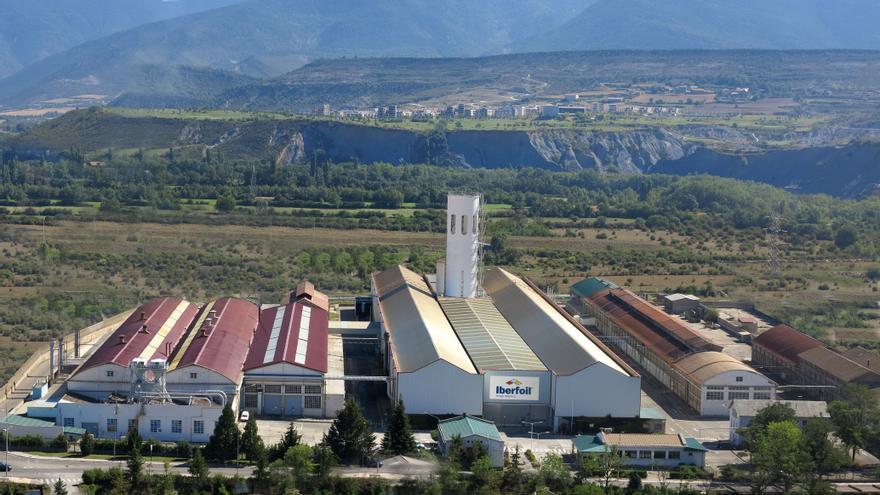 Iberfoil duplicará su plantilla en Sabiñánigo para fabricar aluminio a partir de chatarra