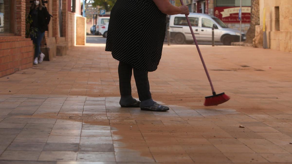 El polvo rojo en suspensión vuelve a la provincia de Alicante