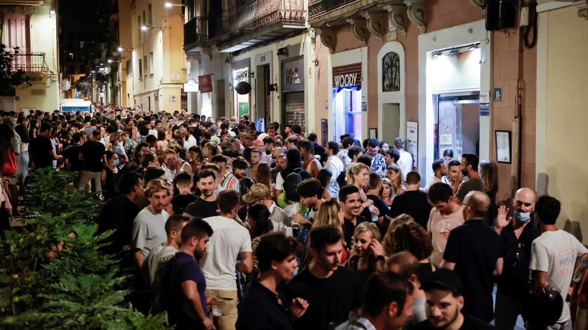 Ocio nocturno en Cataluña.