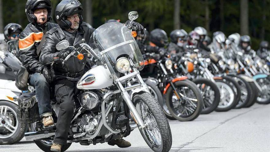 Fotogalería: Desfile de motos de Harley Davidson en Barcelona