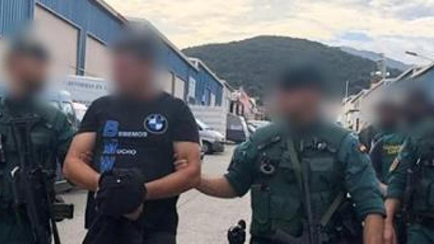"""Detenido """"un referente"""" del narcotráfico en Algeciras"""