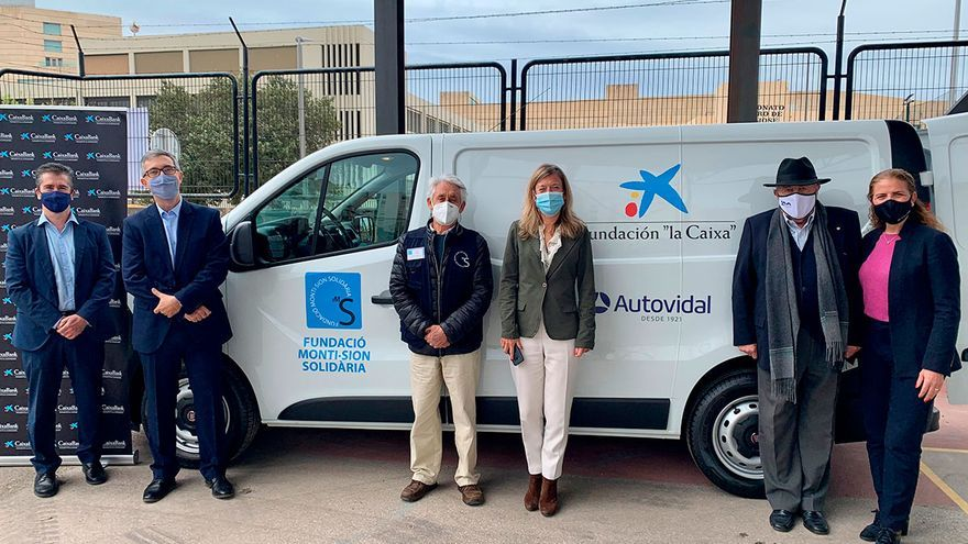 El Banco de Alimentos y la Fundación Monti-sion Solidaria dispondrán de dos nuevos vehículos