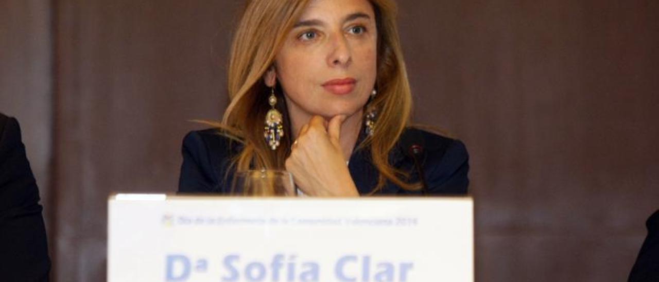 La doctora Sofía Clar, responsable de la UHD Pediátrica del Hospital General Universitario de Elche