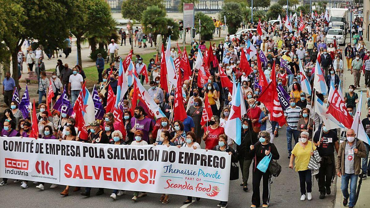 Los trabajadores de Thenaisie Provote finalizan hoy sus tres jornadas de huelga.