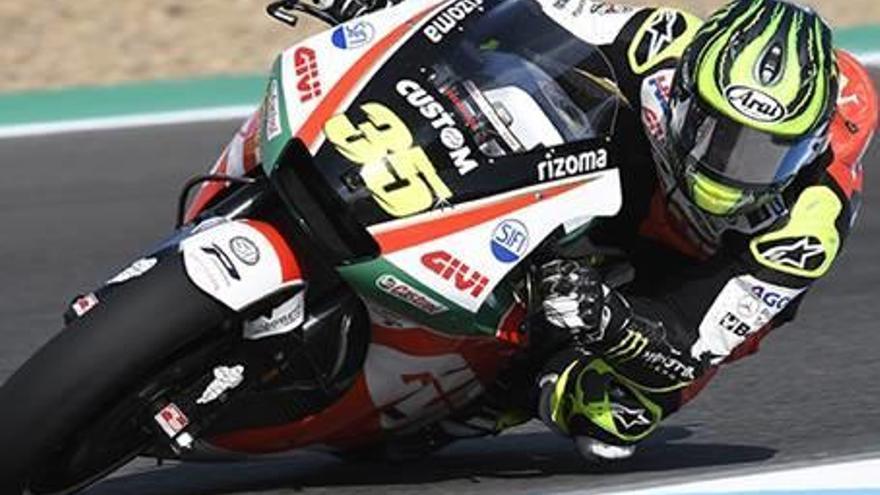 Crutchlow bat el rècord del circuit   a Jerez i arrencarà primer avui