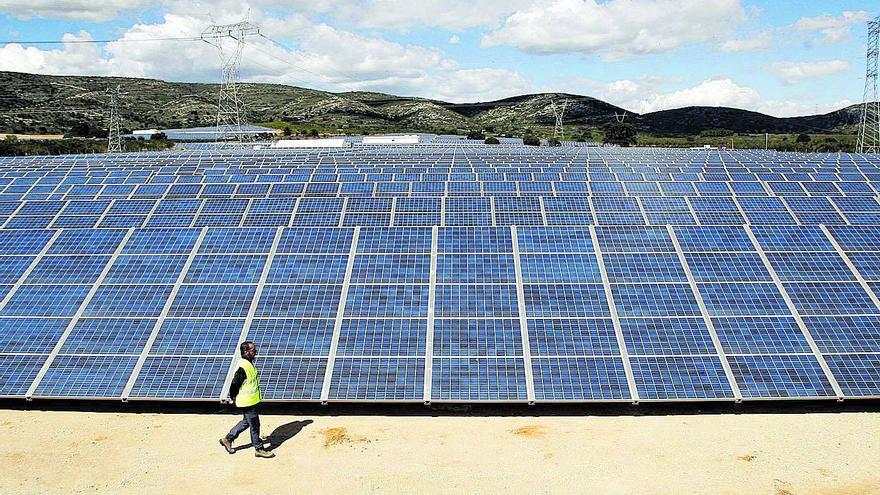 Sant Jordi confía en la planta solar para luchar contra la despoblación