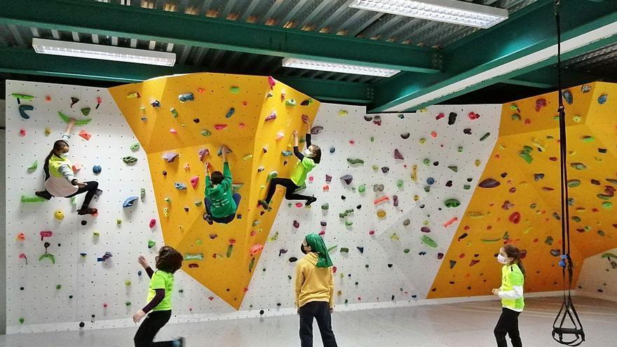 La Escuela de Escalada de Zamora da por finalizado el primer trimestre