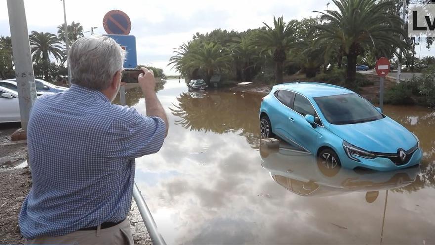 El tiempo en Valencia hoy: nuevas lluvias y tormentas a la espera de que llegue lo peor del temporal
