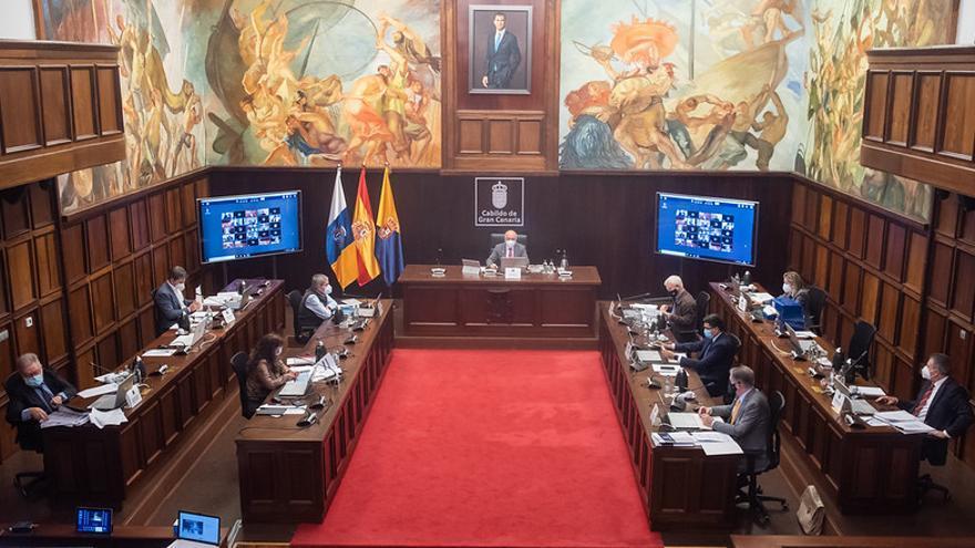 El pleno aprueba los presupuestos del Cabildo para 2021
