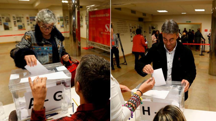 Más de la mitad de los militantes del PSOE gijonés ya votó para elegir candidato a la Alcaldía, a dos horas del cierre de urnas