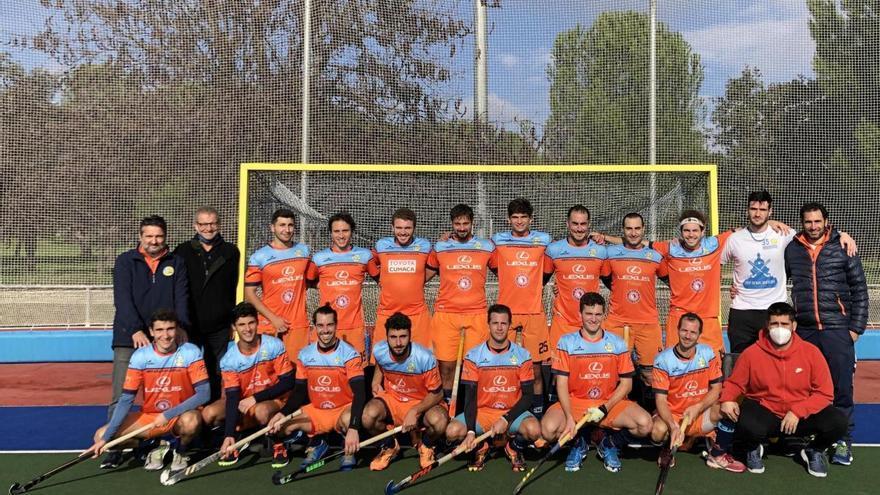 Una victoria y un empate para el Hockey Benalmádena en la doble jornada de Madrid