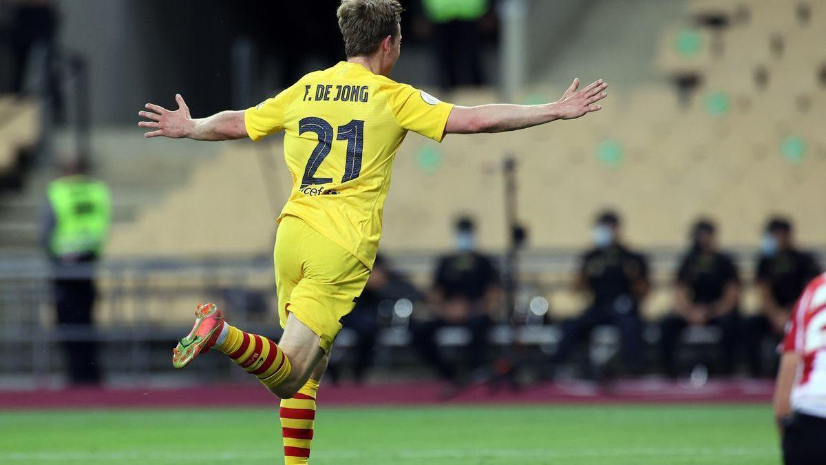 Las claves tácticas de la final de Copa: Cuando De Jong se multiplicó por cuatro De Jongs