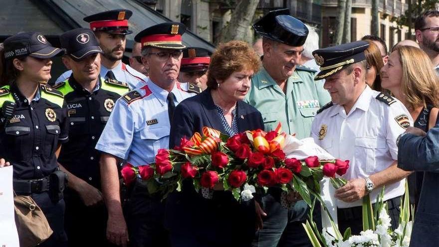 Barcelona rememora hoy los atentados en medio de soterradas tensiones políticas