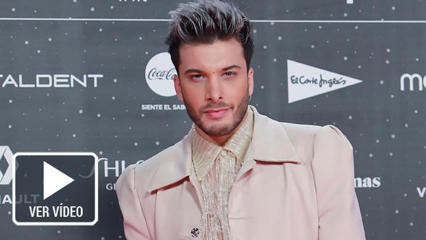 Blas Cantó presenta su canción para Eurovisión 2020
