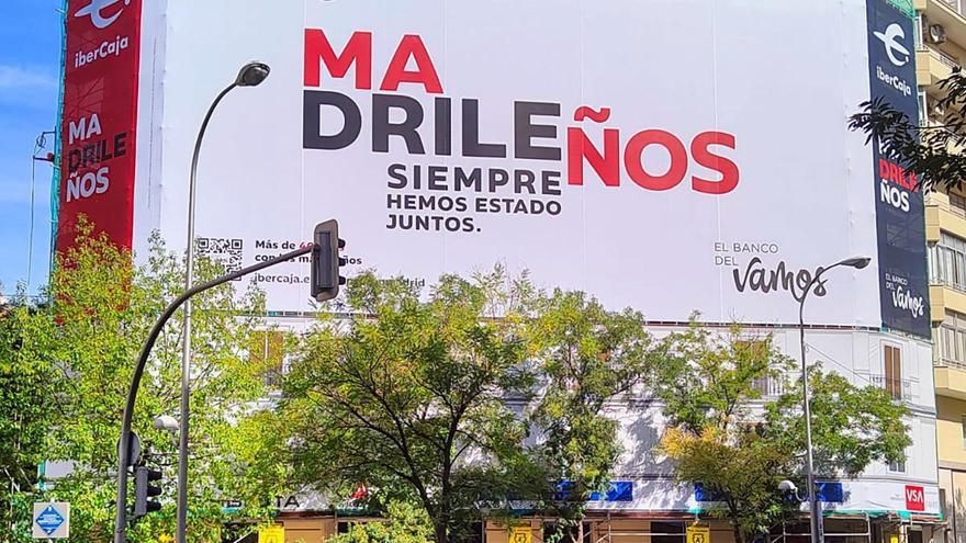 Ibercaja apela a su origen maño para captar clientes madrileños