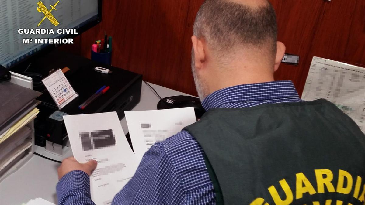Foto de archivo de la Guardia Civil.