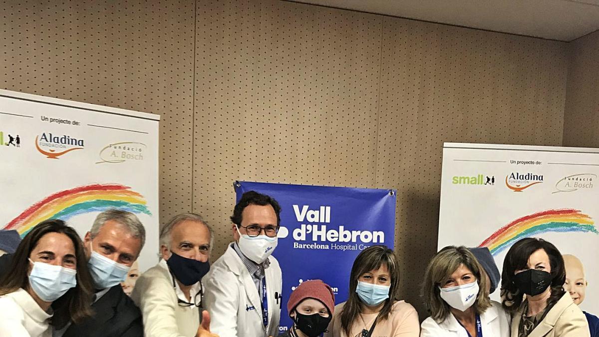 Imatge de la presentació de la remodelació a l'hospital Vall d'Hebron.