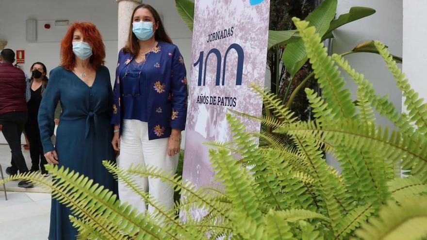 La Delegación de Casco Histórico organiza las jornadas '100 años de patios'