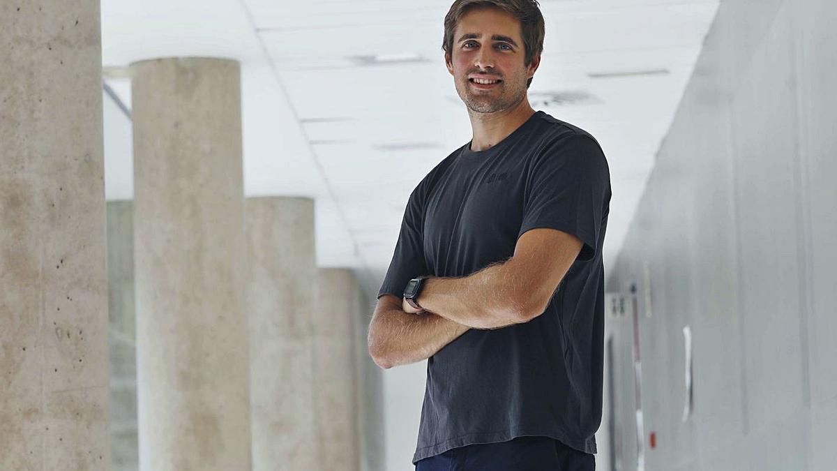 El investigador de Fisabio y  coordinador científico de   Covidrive, Antonio Cardona, ayer. M.A.MONTESINOS