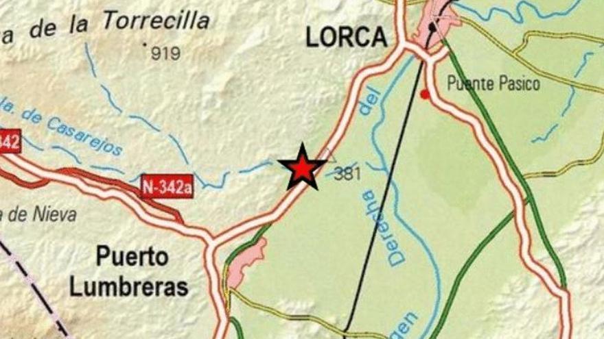 Terremoto de 2,1 grados esta tarde en Puerto Lumbreras