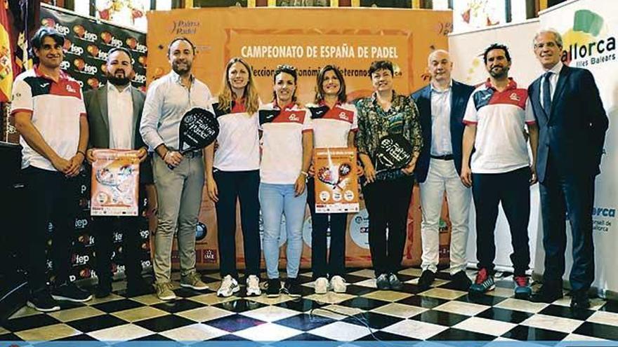 El Palma Pádel acoge desde mañana el Campeonato de España de Selecciones
