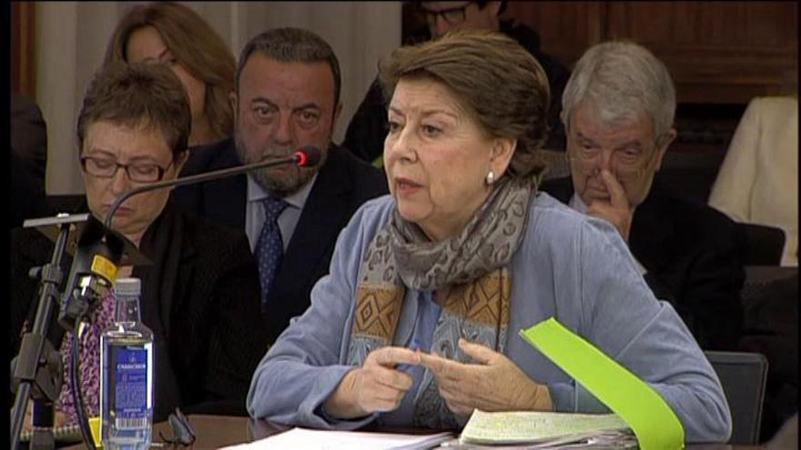"""Magdalena Álvarez: """"Es un error pensar que controlase todo sobre los ERE"""""""