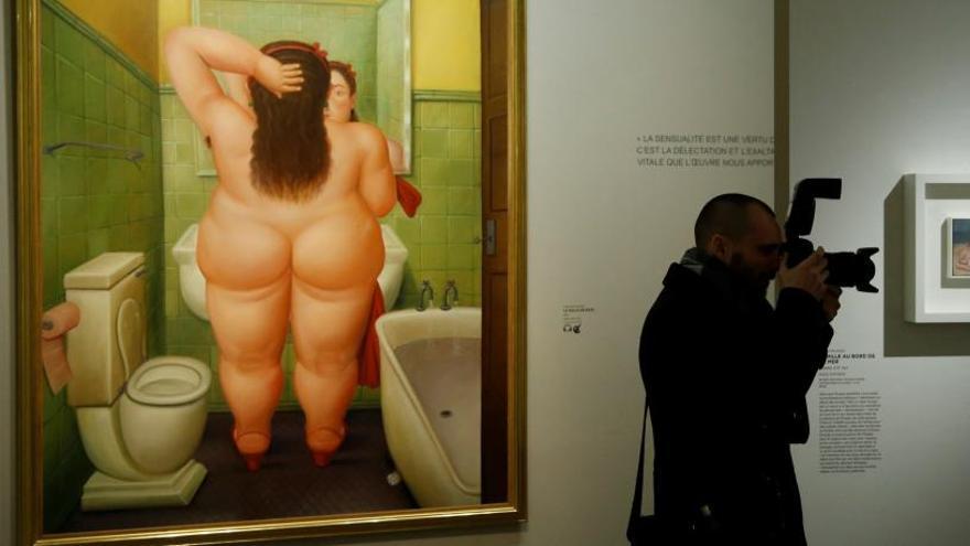 """Botero se mira en el espejo de """"papá"""" Picasso"""