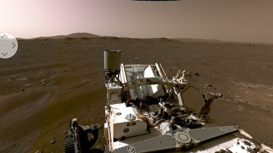 Espectacular panorámica interactiva de Marte en 360 grados