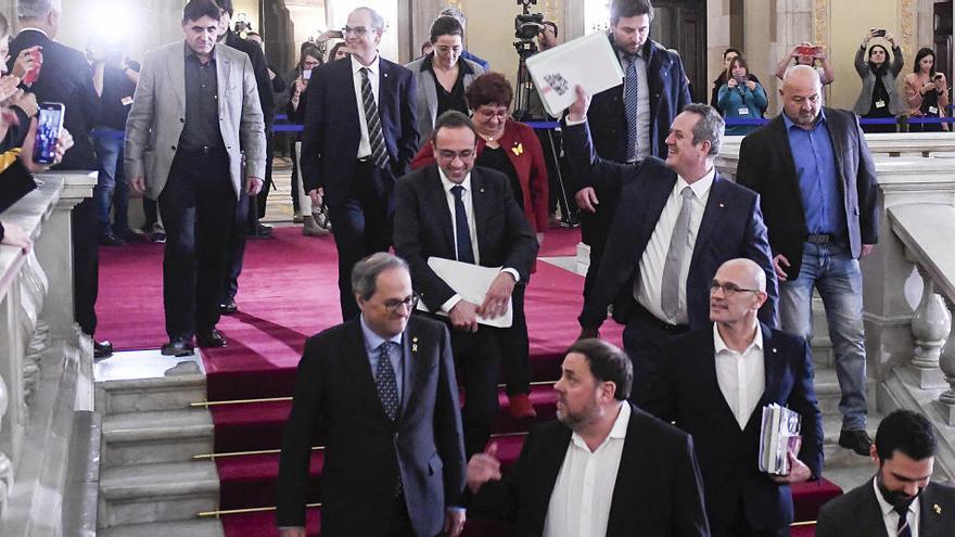 La Generalitat concede de nuevo el tercer grado a los presos del 'procés'