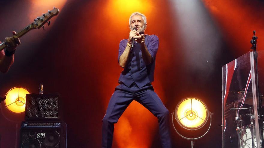 Suspenen un concert de Sergio Dalma a Múrcia per animar el públic a saltar-se les mesures anticovid