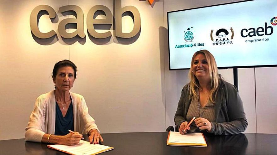 CAEB y 4 Illes impulsan el proyecto 'Papá Bocata' para los niños más vulnerables