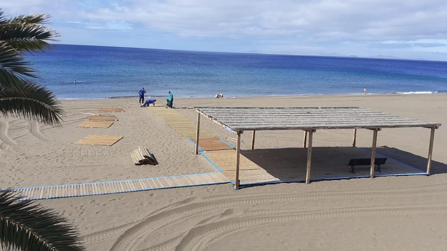 Sorpresa en Tías: Pocillos, Matagorda y Playa Chica pierden las banderas azules de sus playas en pleno verano