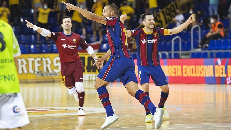 El fútbol sala vuelve a ser muy cruel con el Palma Futsal