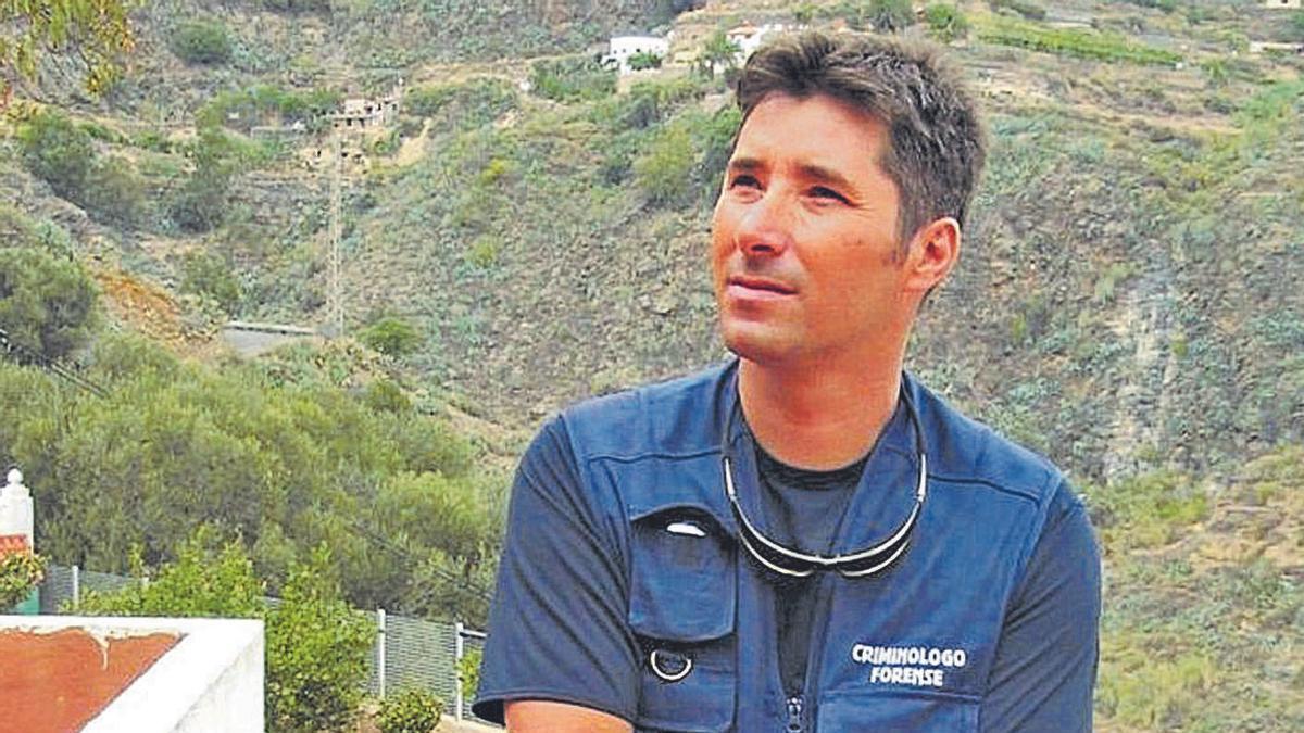 El criminólogo Félix Ríos.