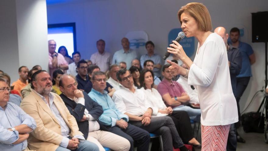 Cospedal, la candidata más votada en Asturias para presidir el PP
