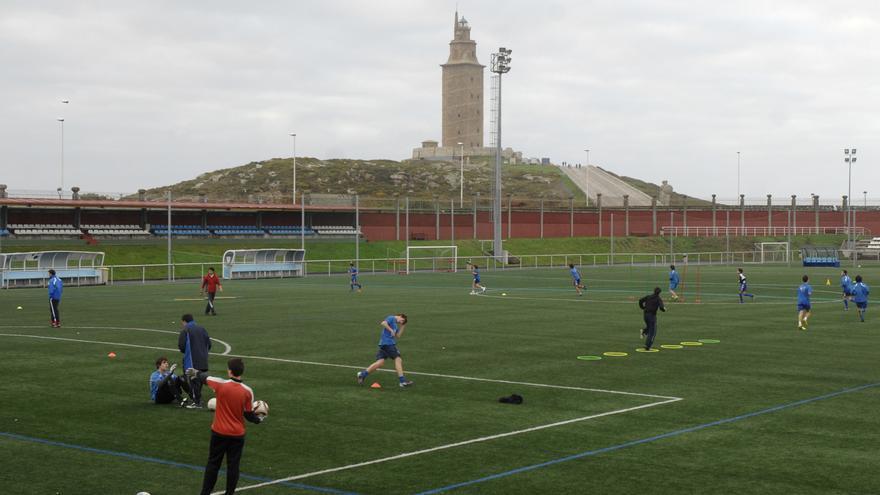 Deportes inicia las obras de los campos de la Torre, que añadirán césped para rugby