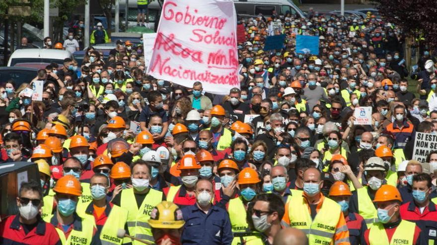 Sánchez dice que el Gobierno busca solución para Alcoa