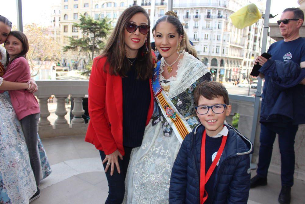 Andrea Cea también tuvo su visita entrañable