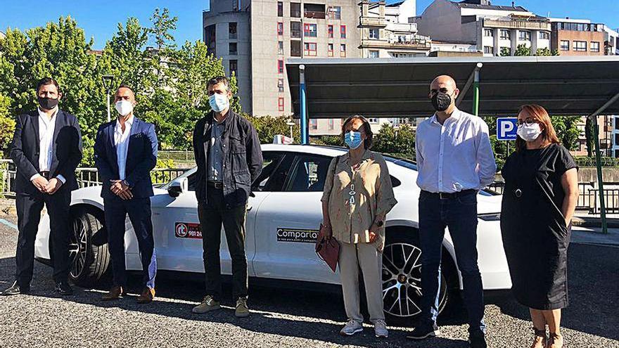 Los taxis permitirán compartir viajes a través de una 'app'