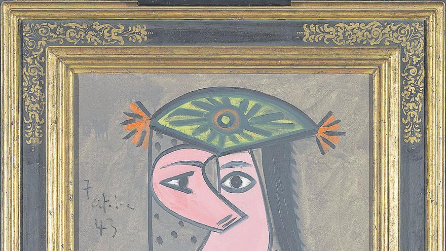 Recuperado, nueve años después de ser robado, un cuadro de Picasso