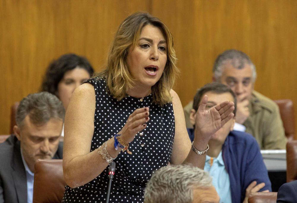 Sesión de control al Gobierno en Parlamento ...