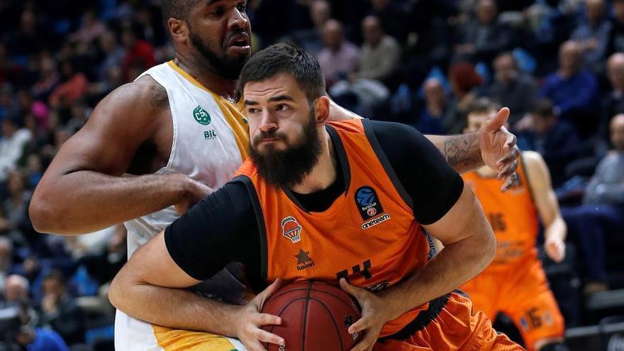Victoria del Valencia Basket para ser el mejor del Top 16